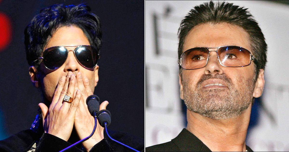 BLIR HEDRET: Popikonene Prince og George Michael skal hylles under nattens Grammy Awards. De to artistene døde brått i 2016.