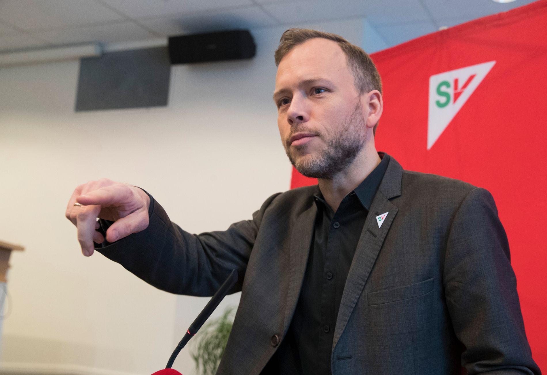 BLID: Audun Lysbakken tror velgerne mener SV gjør en god jobb om dagen, og at det er derfor han gjør det godt på målingen.