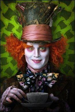 SKREMTE IKKE BARNA: Johnny Depp i «Alice in Wonderland» Foto: AP/Disney