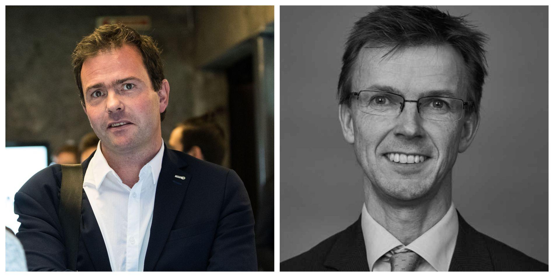 SVARER: Marius Holm og Eirik Sauar i Zero.