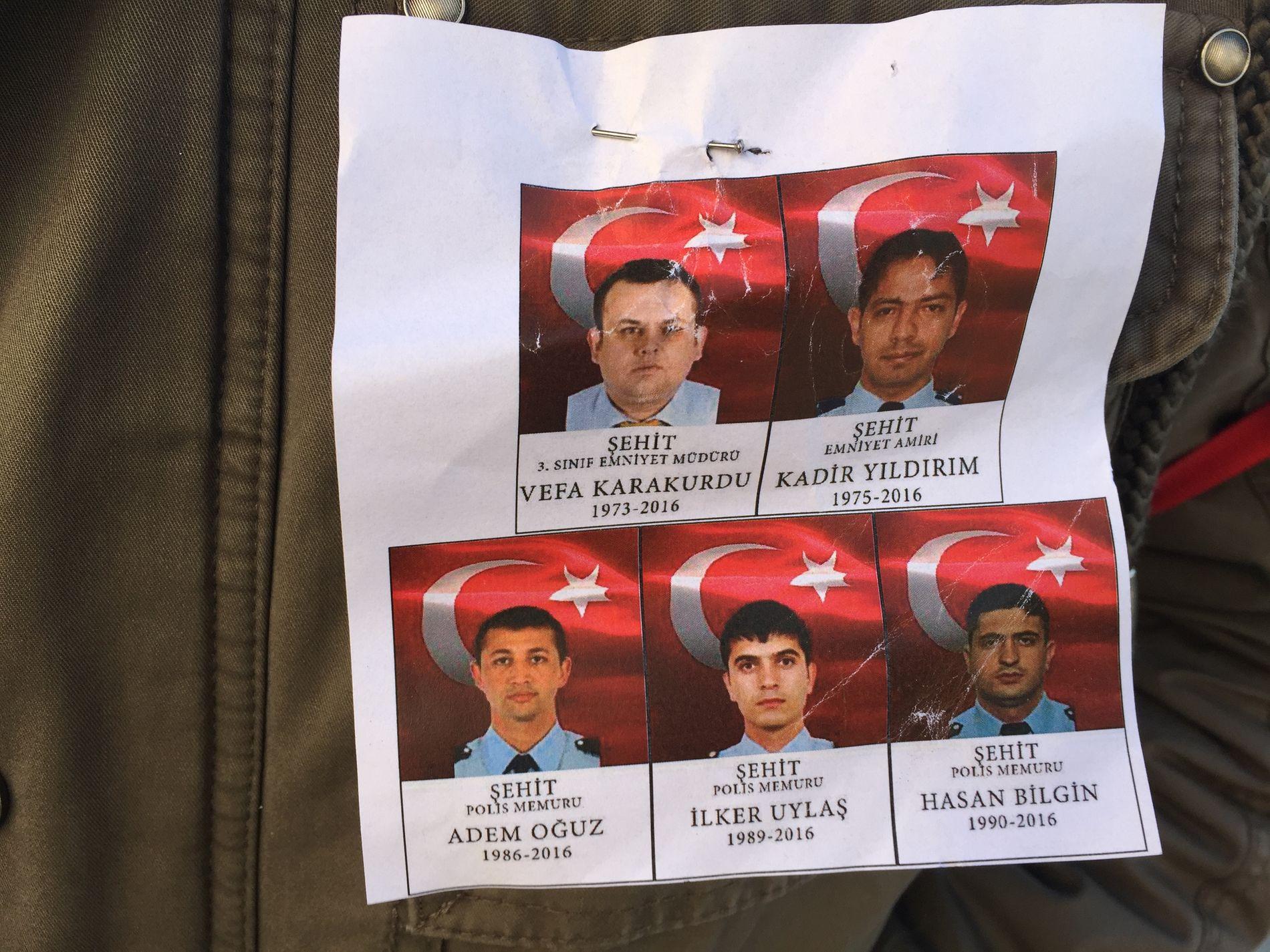 DE DREPTE: Dette er blant de drepte i gårdagens terrorangrep.