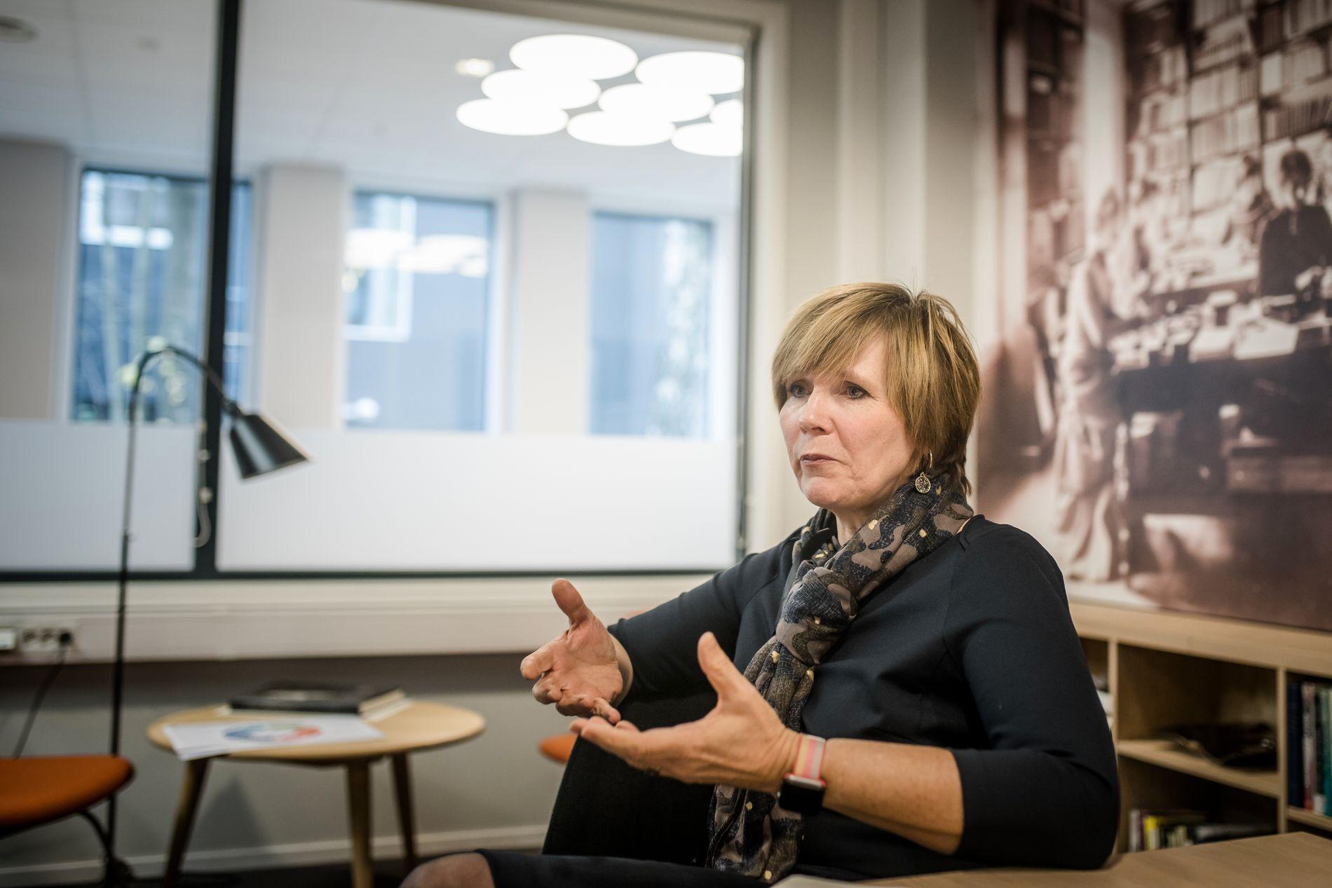 OMORGANISERING: SSB-direktør Christine Meyer har måttet forsvare omorganiseringene i SSB. Men hun får også støtte. Foto: Odin Jæger, VG