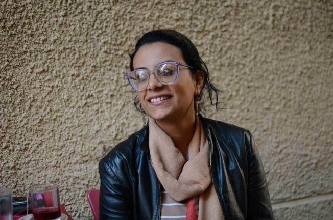 I FENGSEL: Advokaten og menneskerettighetsforkjemperen Mahienour el-Massry (30) sitter nå i fengslet av det egyptiske regimet.