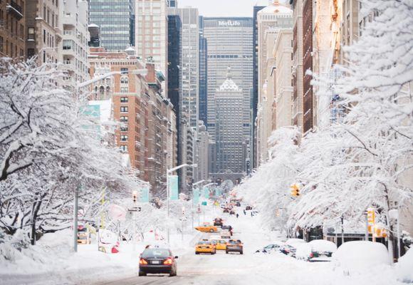 Dette gjør du om vinteren i New York