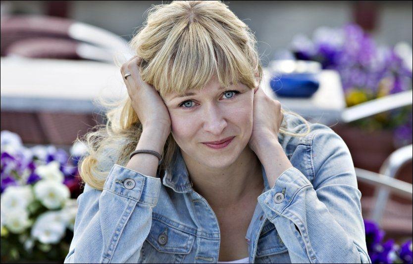 AMBISJONER: Marie Blokhus - ungt stjerneskudd med store ambisjoner på egen vegne. Aktuell i høst på scene og TV. Foto: ROGER NEUMANN