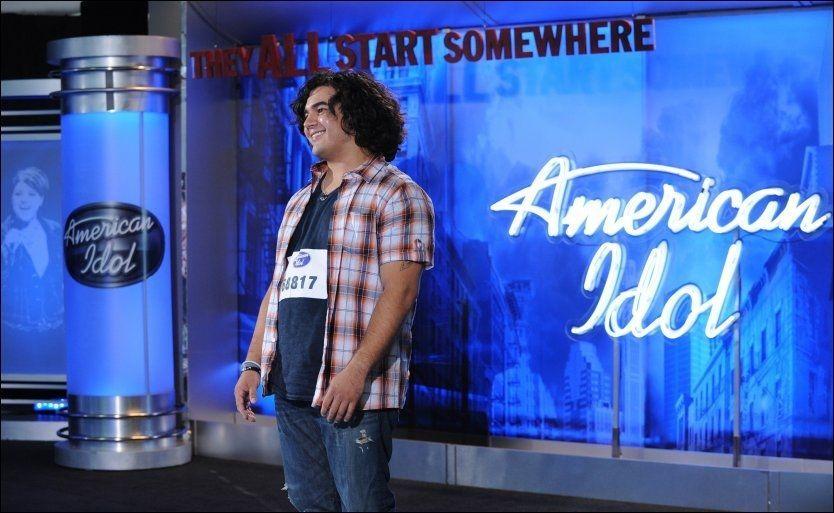 POPULÆR AUDITION: Chris Medina (26) på sin første opptreden i «American Idol». Foto: AP