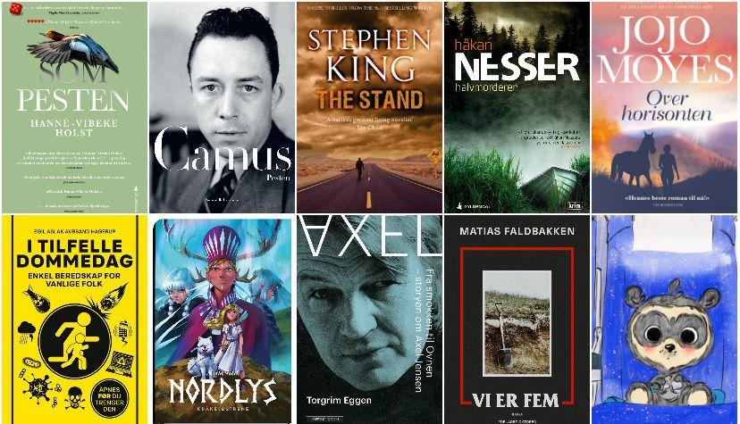 De beste boktipsene nå: Virus-bøkene, seriene, krimmene, barnebøkene