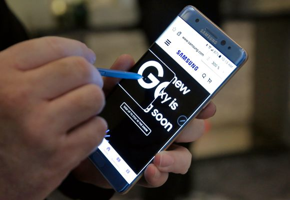USA advarer mot Samsung-telefon på fly