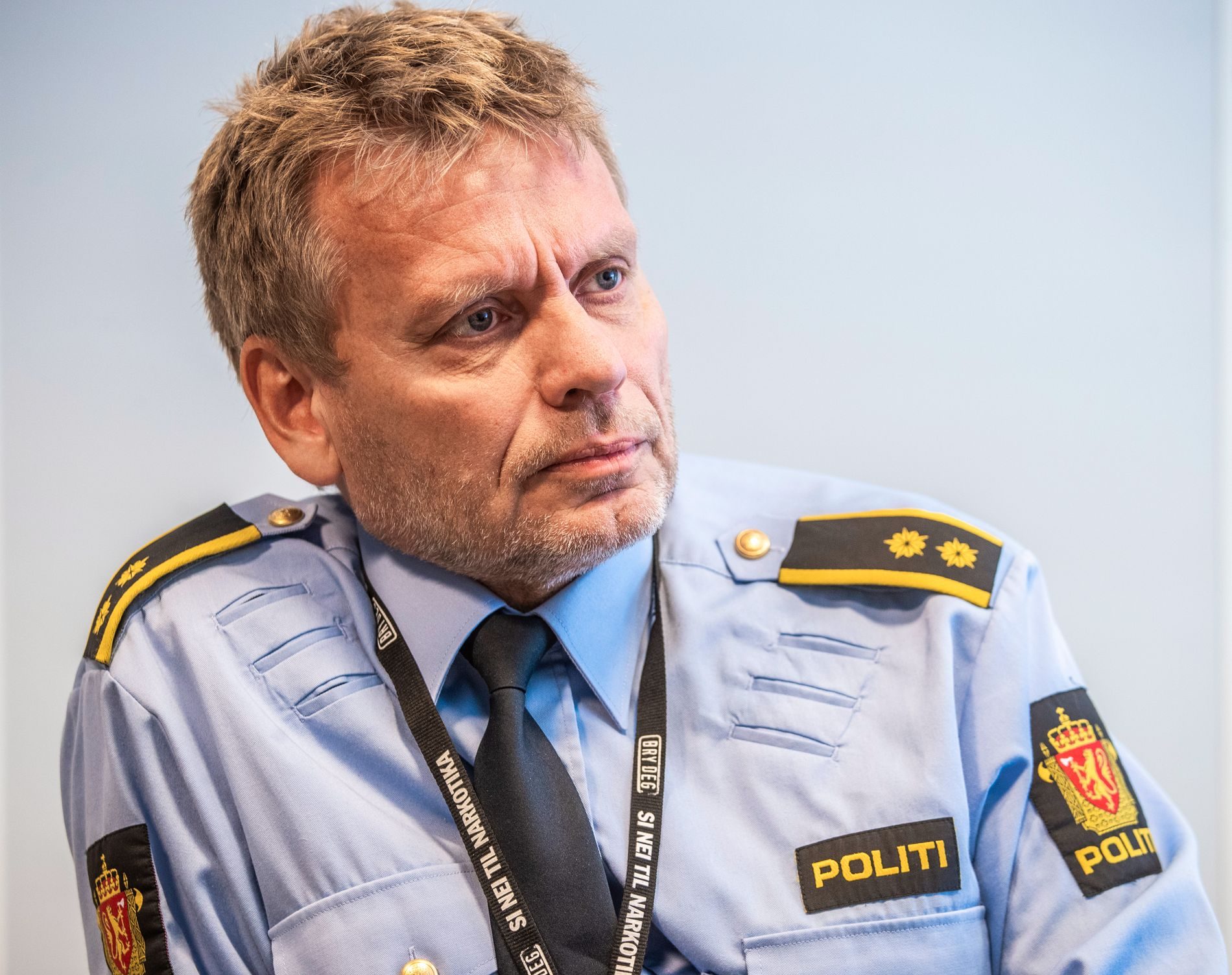 LEDER: Politioverbetjent Skule Worpvik er etterforskningsleder i politioperasjon Bonanza.