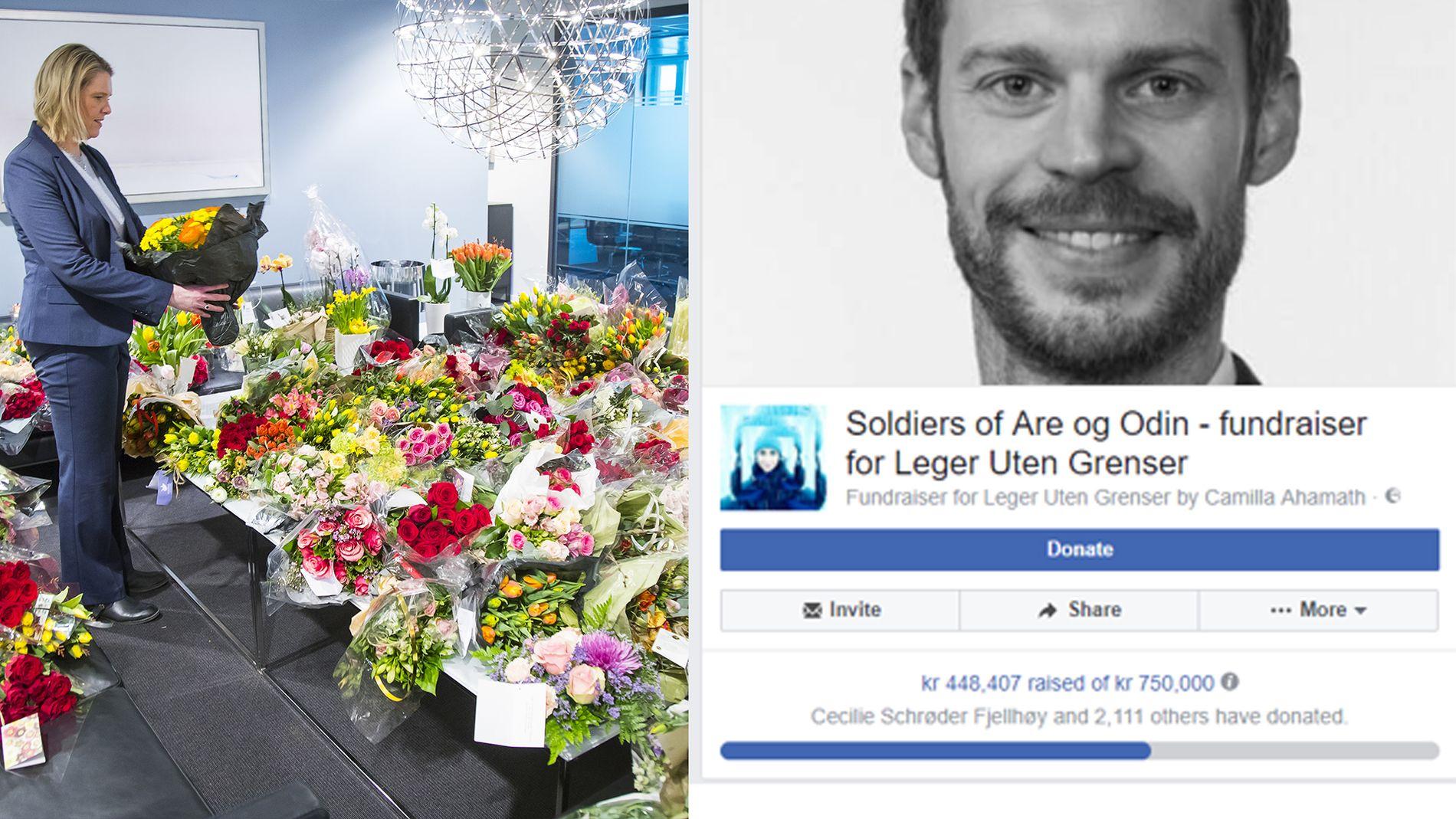 MOTAKSJON: Den nye Facebook-aksjonen har engasjert mange. Pengene skal gå til Leger Uten Grenser, opplyser intiativtaker Camilla Ahamath.