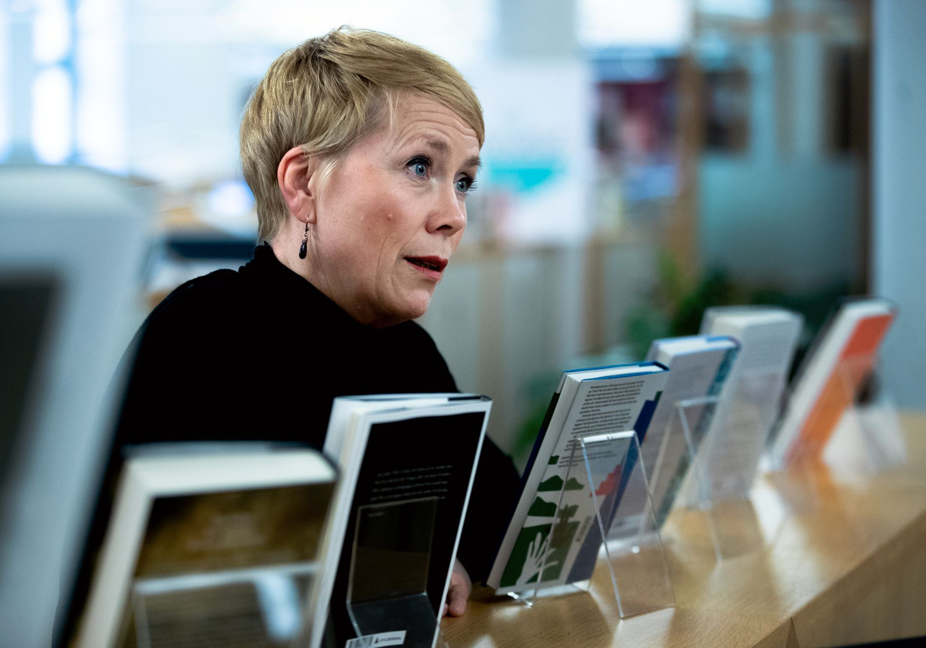 SJEFREDAKTØR: Kari Marstein er ansvarlig for norsk skjønnlitteratur i Gyldendal.