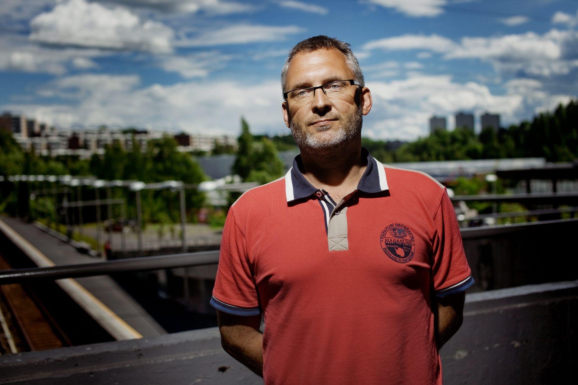 BARNEVERNSLEDER: Espen Lilleberg er til vanlig ansatt i det private barnevernsselskapet Connexa, men er nå leid inn til å lede barnevernet i Nordre Land. Her er han avbildet i 2010.
