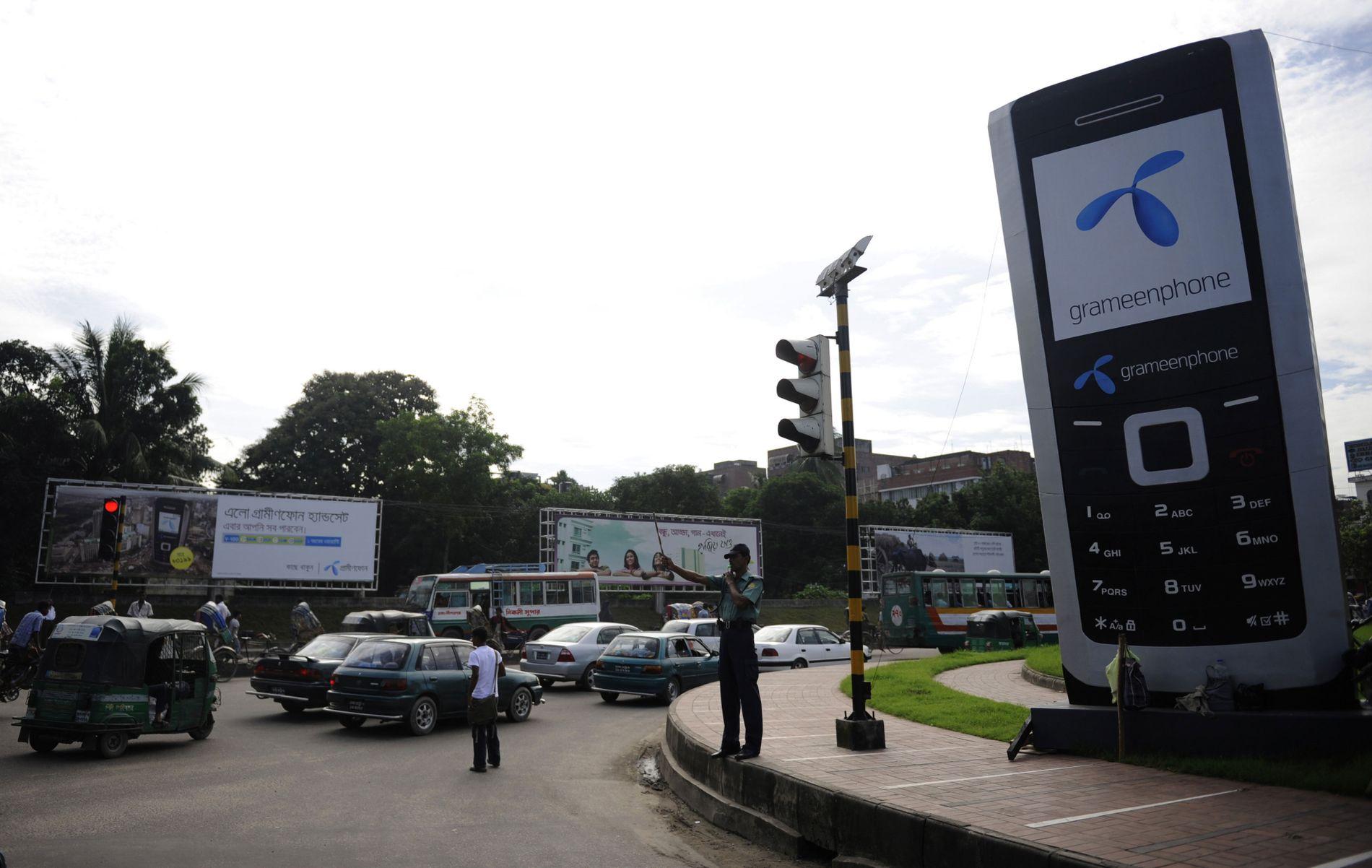 TELENOR: Telenor eier mobilselskapet Grameenphone i Bangladesh, og har 3000 ansatte, deriblant nordmenn, i landet.