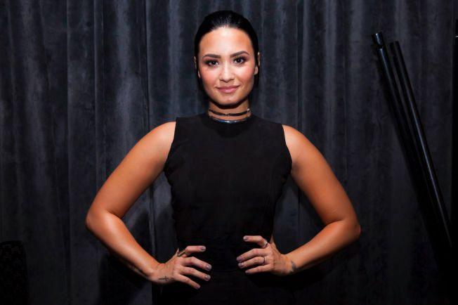 I NORGE: Demi Lovato er på sitt aller første norgesbesøk. VG møtte henne på The Thief i Oslo torsdag formiddag.