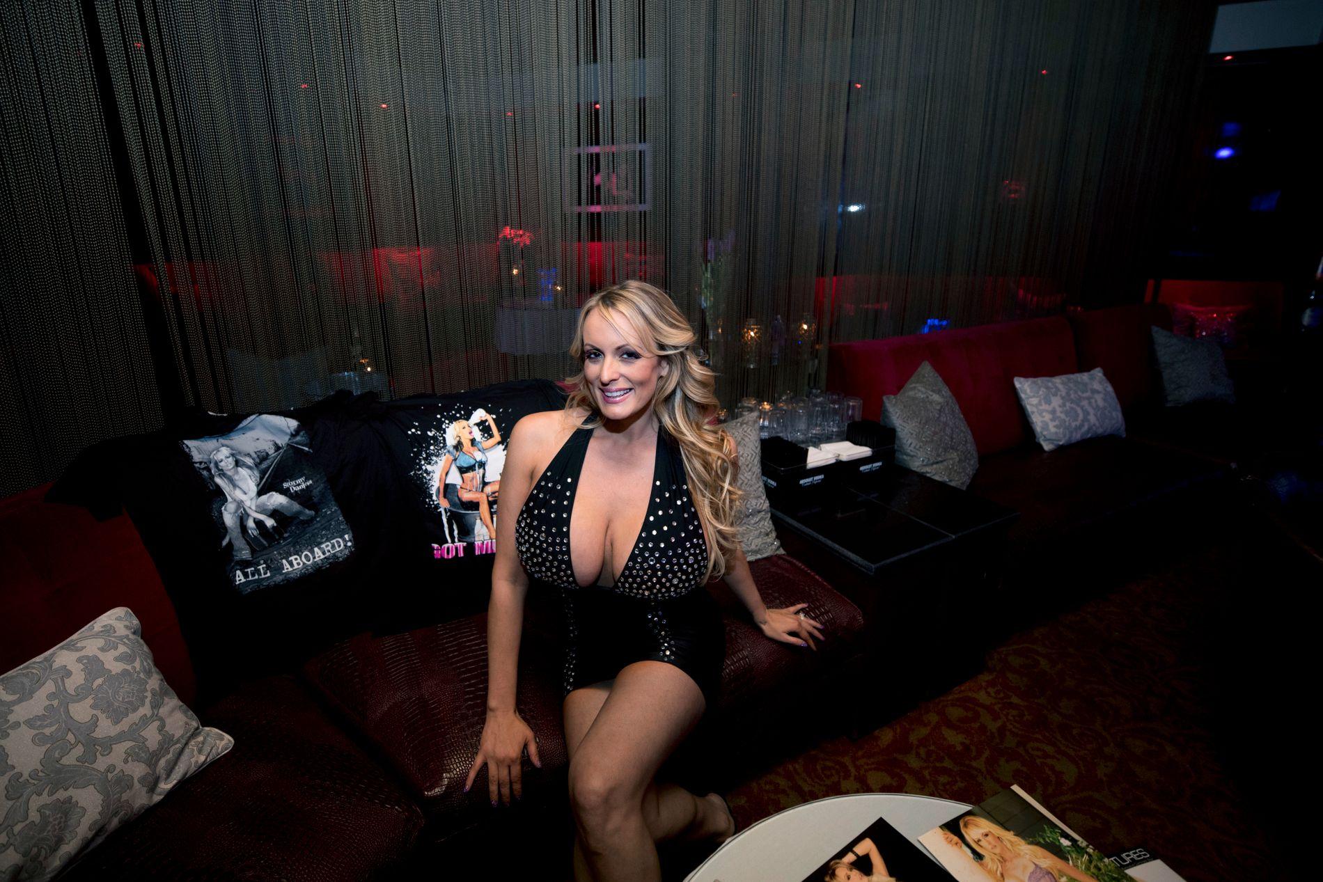 ANKLAGER PRESIDENTEN: VG møtte Stormy Daniels på en strippeklubb i Florida tidligere i år.