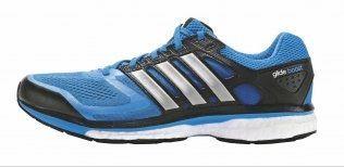 0d720f45 Adidas Supernova Glide 6Pris: 1400 kroner*Vekt: 301 gram (herre), 249 gram  (dame)Vurdering: Testløperne elsket støtdempingen i denne skoen.