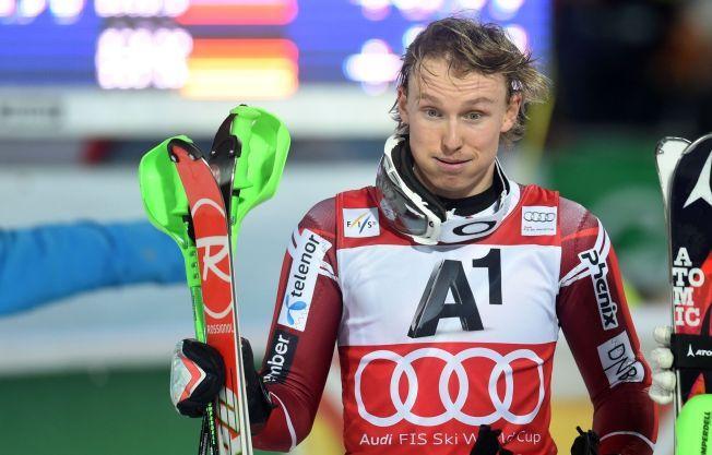 KJØRER IKKE I DAG: Slalåmesset Henrik Kristoffersen får ikke mulighet til å fortsette sin sensasjonelle form. Storslalåmrennet i Garmisch-Partenkirchen er avlyst.