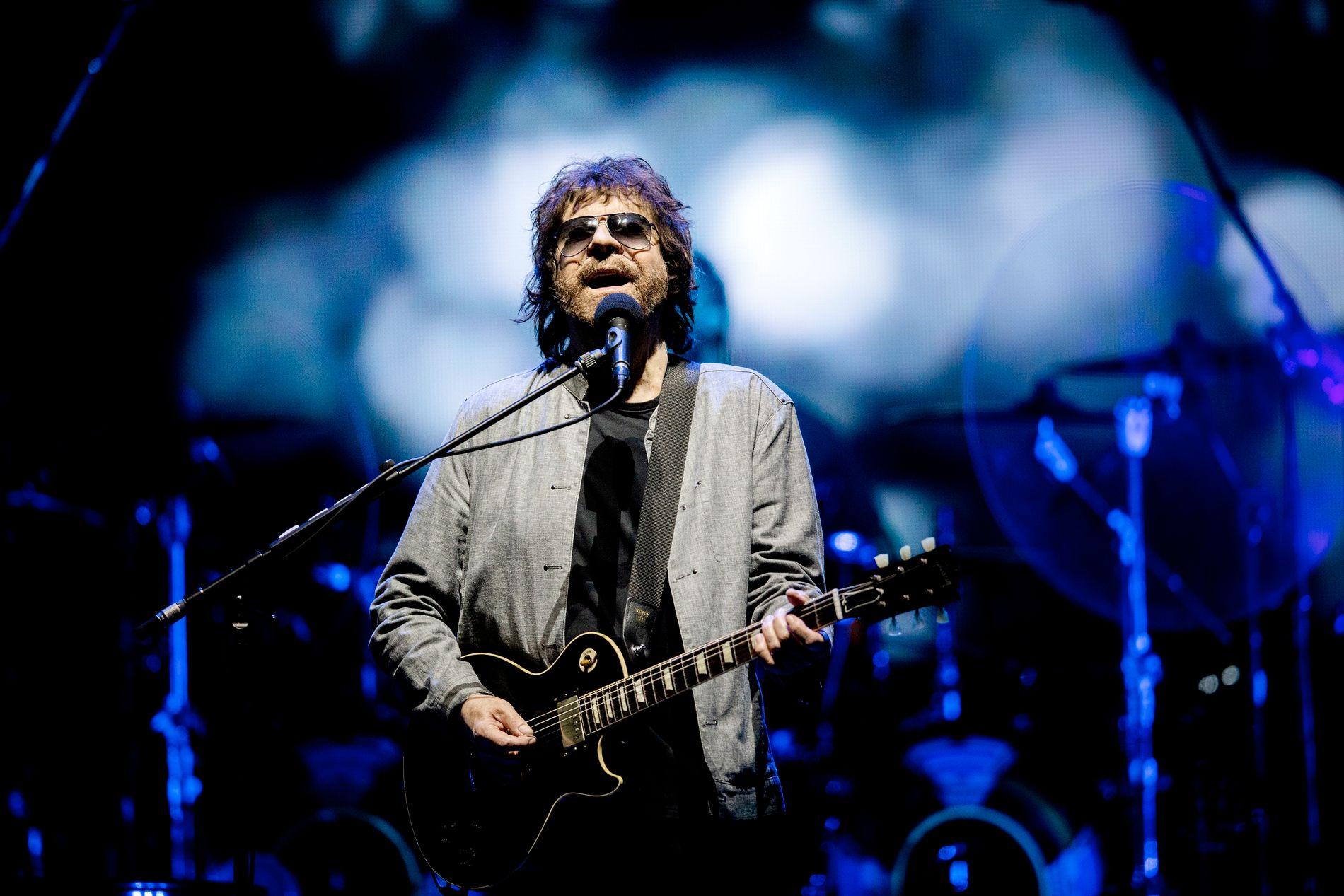 INNSTRÅLING: Jeff Lynne i Oslo Spektrum.