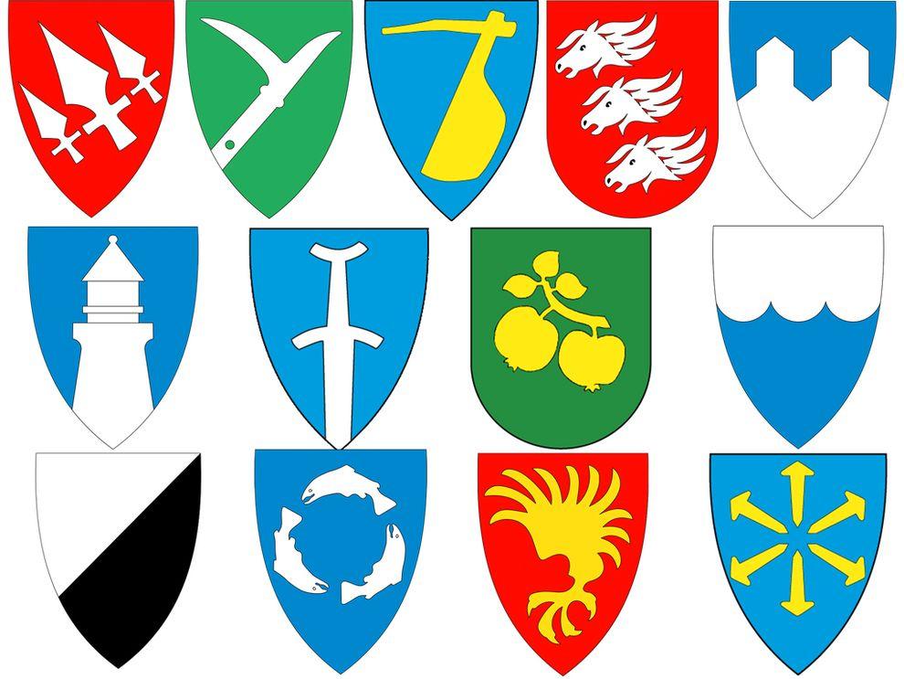 SAMMENSLÅS: 13 kommuner blir slått sammen mot sin vilje.