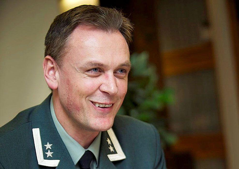 FIKK UTMERKELSE: Oberstløytnant Kåre Emil Brændeland er tildelt Krigskorset med sverd som er Norges høyeste utmerkelse. Foto: TORGEIR HAUGAARD / FORSVARETS MEDIESENTER