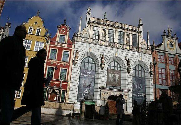 Gdansk - byen der 2. verdenskrig «startet»