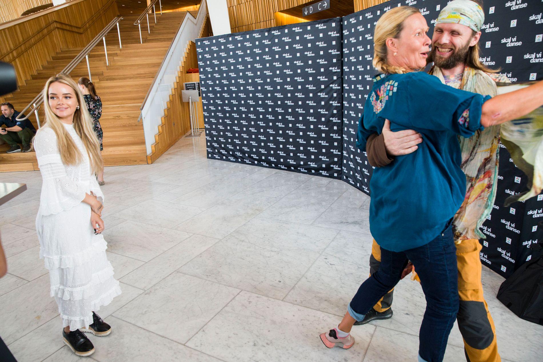 «SKAL VI DANSE»-DELTAKERE: Sophie Elise Isachsen, Dorthe Skappel og Aune Sand er alle med på årets «Skal vi danse».