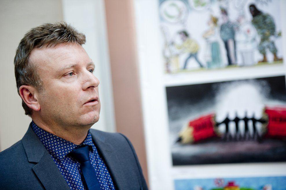BLE DRAPSTRUET: Dagen-redaktør Vebjørn Selbekk. Her på et bilde fra 2015.