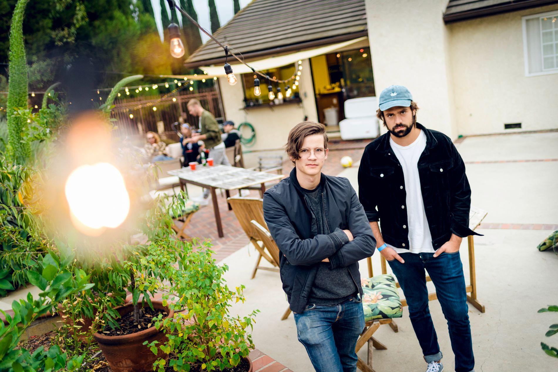 SATSET: Det norske elekronikabandet Lemaitre flyttet til Los Angeles etter debutalbumet og har siden gjort suksess i USA. Fra venstre: Ketil Jansen og Ulrik Denizou Lund.