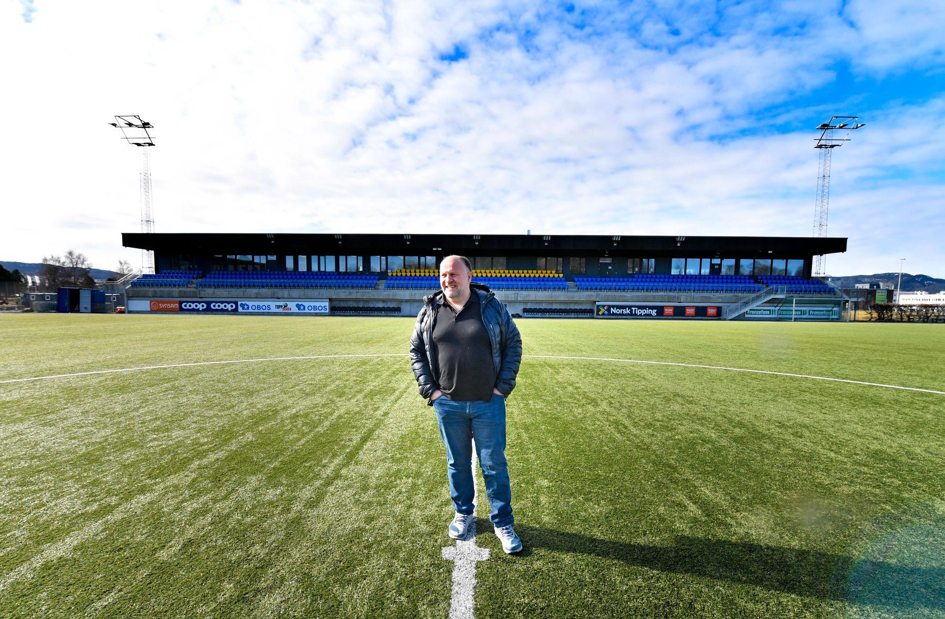 KOTENG ARENA: Ivar Kotengs nye hjemmebane ligger på Lade i Trondheim.