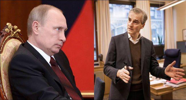 RUSSLAND I OVERGANG: Ap-leder Jonas Gahr Støre advarer mot å ha et låst bilde på hvilken vei Russland under Vladimir Putin vil utvikle seg.