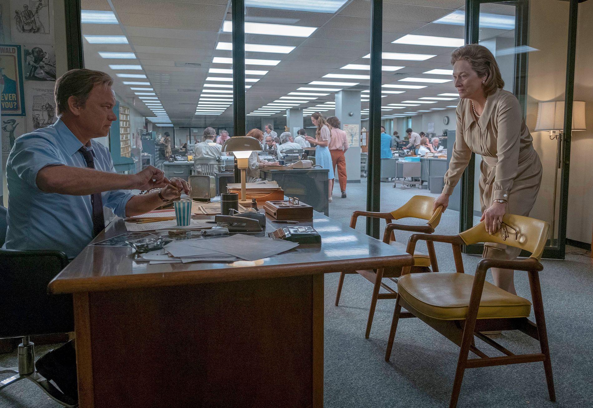 STJERNEDUO: Regissør Steven Spielberg røper til VG at det å ha sikret seg de to Hollywoodikonene til filmen, gjorde at han hver dag av innspillingen måtte klype seg i armen.