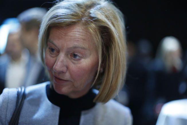 IKKE FORNØYD: Styrelder i Telenor Gunn Wærsted vil ha opp kvinneandelen i Telenor. Her fra NHOs årskonferanse.