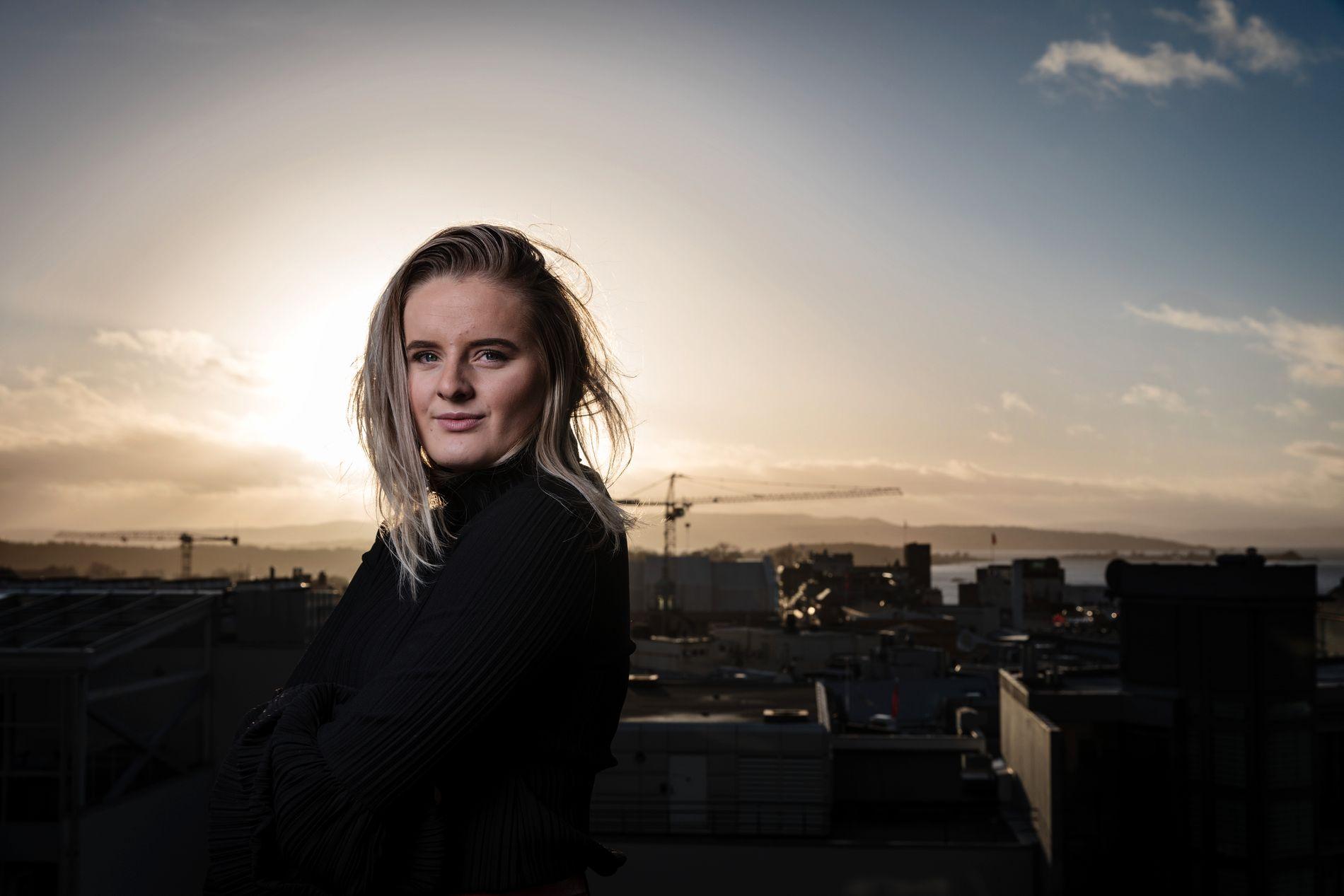 BLOGGER: Martine Halvorsen har også vært med i TV-seriene Top Model og dokumentaren «Sykt perfekt».