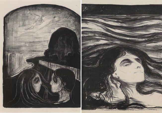 Wonderful 8 av 16 Munch-bilder solgt på auksjon JX-66
