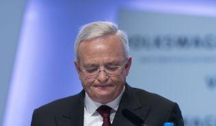 GIKK AV: Administrerende direktør i Volkswagen Martin Winterkorn annonserte onsdag ettermiddag at han trekker seg som følge av dieselskandalen.