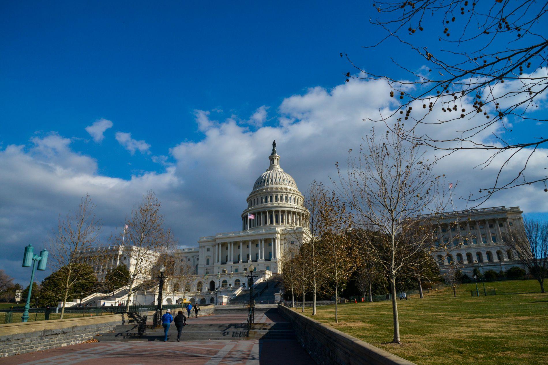 KONGRESSEN: Totalt 470 personer skal velges til Kongressen i Washington, D.C. ved årets mellomvalg. I tillegg kommer guvernører og delstatspolitikere.