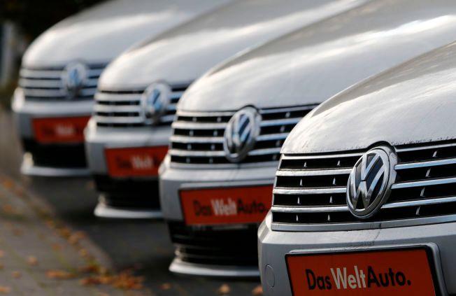 SKANDALEMERKE: Volkswagen-skandalen vokser seg stadig større.