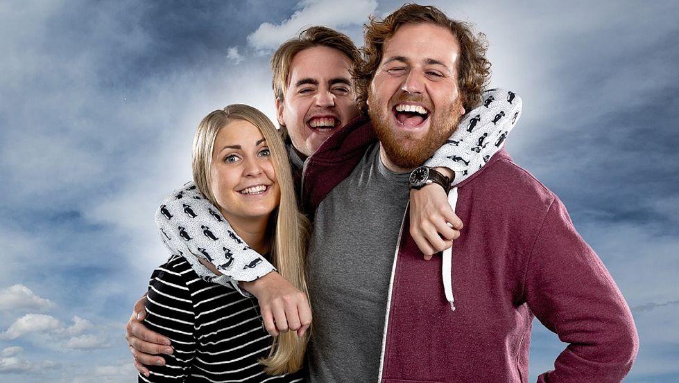 TRIO: Silje Nordnes, Markus Neby og Ronny Brede Aase.