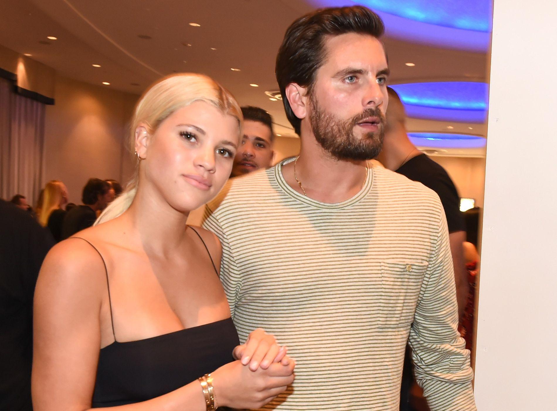 PAR: Sofia Richie og Scott Disick i Miami 7. desember i fjor.