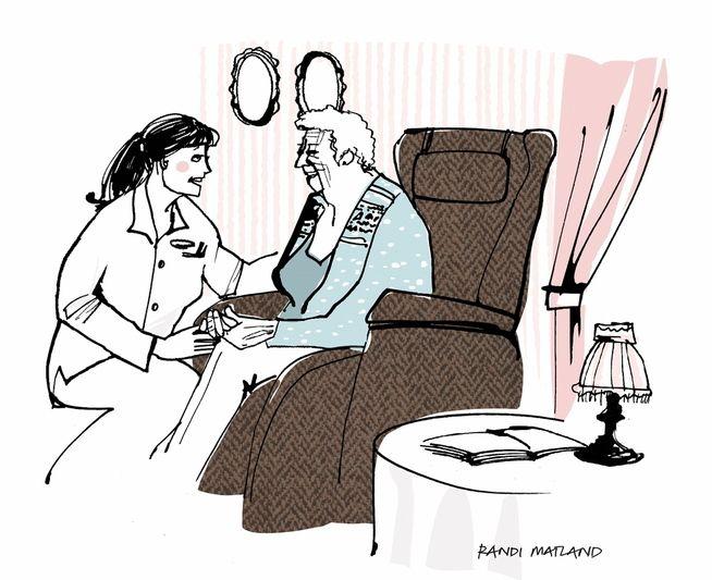 Hvem er best egnet til å ta vare på bestemor?