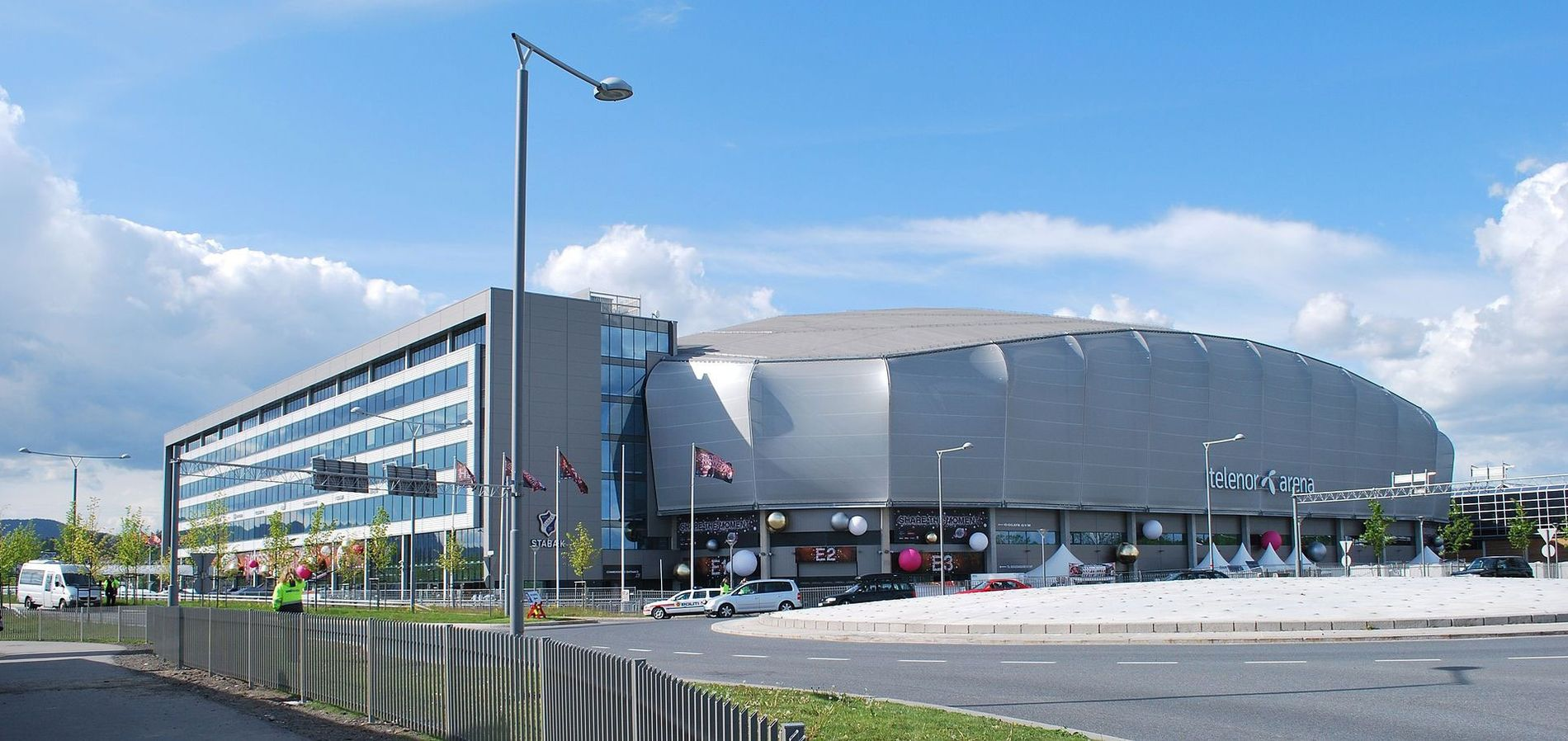 Telenor Arena, Bærum.Foto: Wikipedia