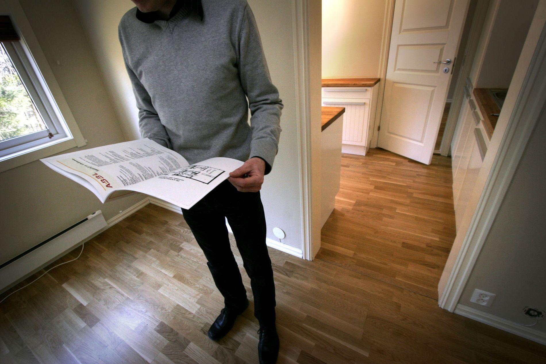 SÅRBARE FØRSTEGANGSKJØPERE: Som ung er man mest sårbar for rentesjokk, sier Geir Omseth i Dine Penger.