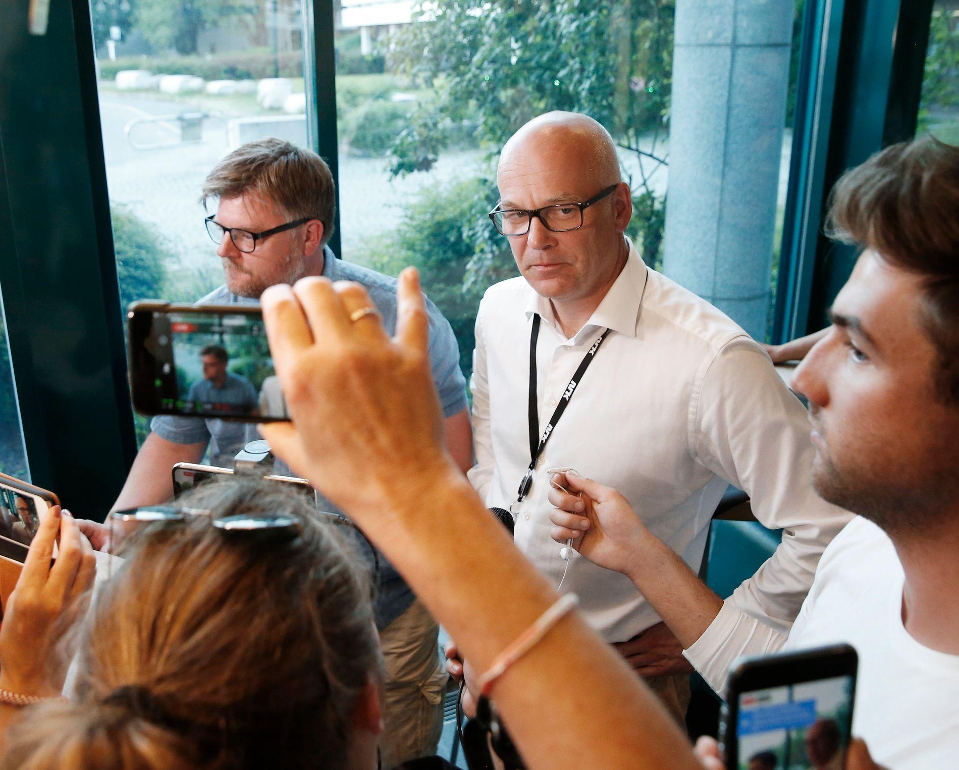 Kringkastingssjef Thor Gjermund Eriksen tar permisjon fra NRK