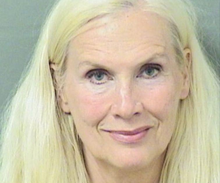 ARRESTERT: Gunilla Persson ble tirsdag kveld arrestert i Florida, mistenkt for grovt tyveri.