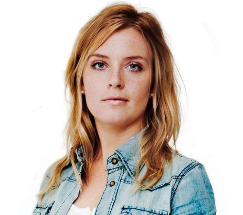 IRRITERT: Aftonbladets journalist Johanna Frändén er lite fornøyd med Manchester Uniteds håndtering av pressen.