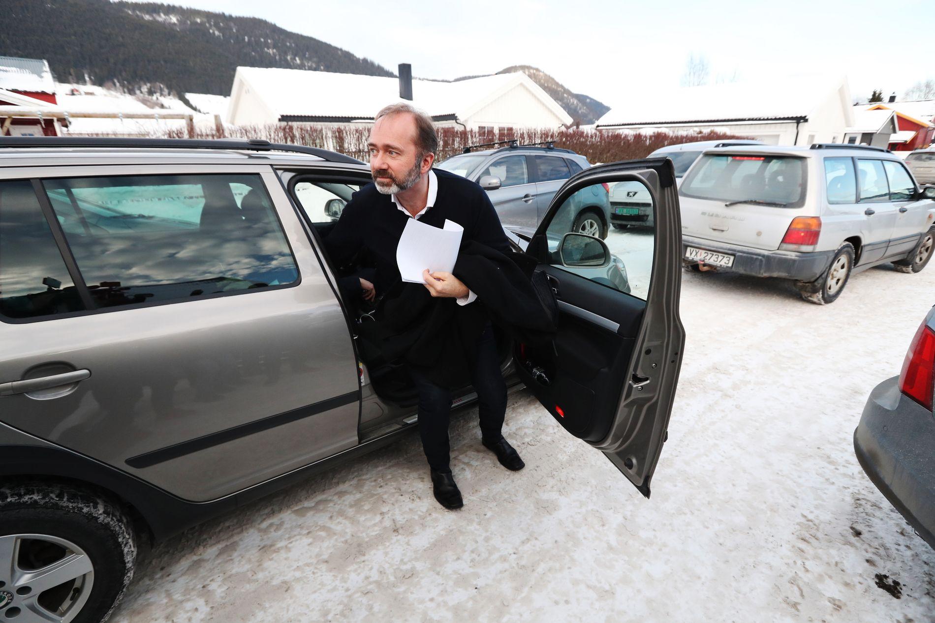 I VINDEN: Trond Giske er blant kandidatene til nestledervervet i Trøndelag Ap.