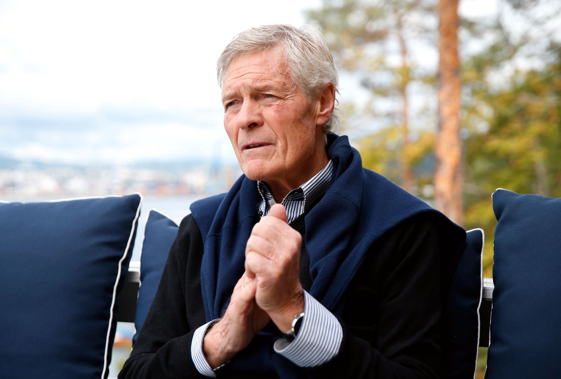 TABU-SYKDOM: Menn snakker lite om sine problemer forbundet med prostata. Roald Øyen ønsker å dele sine erfaringer for å fjerne dette tabuet.