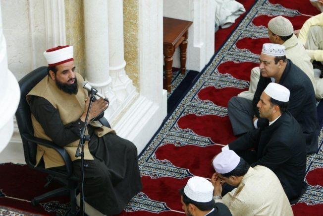 ANGREPET: Imam Nehmat Ali Shah.
