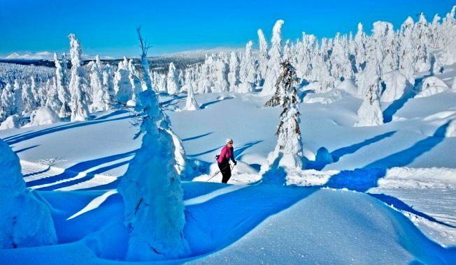 DRØMMEVINTER: Slik er drømmevinteren i Norge. Om få tiår kan den være en raritet. Her vinterferiestemning på Kvitfjell i 2014.