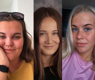 Charlotte Nilsen (18), Nora Ulsund Sinkaberg (19) og Ingrid Marie Eidshaug (19) står bak initiativet.